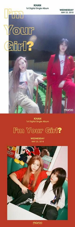 THE ARK出身のユナ・キムとチョン・ミンジュ、デュオ「KHAN」として23日に再デビュー。2種類の魅力が見える公式フォトティーザーを公開。ユナ・キムは今年初めまで、アイドル再起