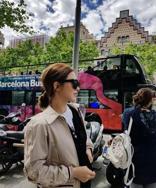 女優シン・セギョン、スペイン旅行中の写真を公開。