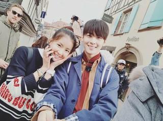 女優イ・シヨン、MBC「線を越えるやつら」フランス・ドイツ編のビハインド写真を公開。ASTRO チャ・ウヌの誕生会など。