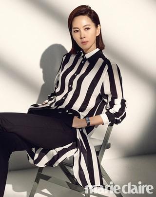 女優キム・ナムジュ、画報公開。marie claire。