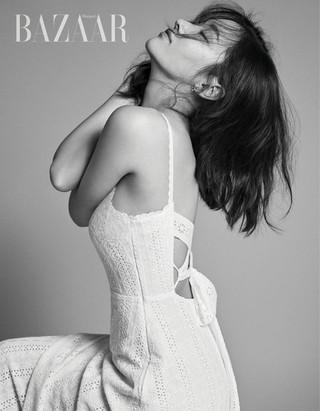 女優チョン・ジョンソ、画報公開。BAZAAR。映画「BURNING」で活躍の女優。