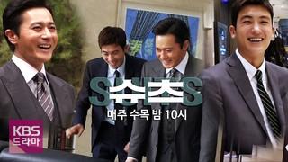 パク・ヒョンシク(ZE:A) &チャン・ドンゴン出演ドラマ「SUITS」 Making Film  公開。