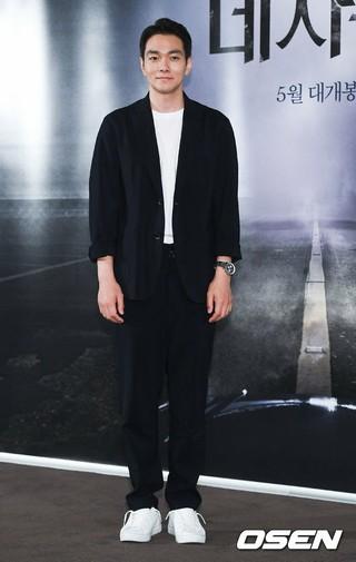 俳優イ・ギュハン、映画「デジャブ」メディア試写会に出席。25日午後。