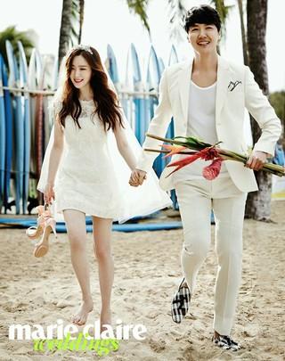 俳優ユン・サンヒョン -歌手MayBee 夫妻、第3子の妊娠を報告。12月、出産予定。