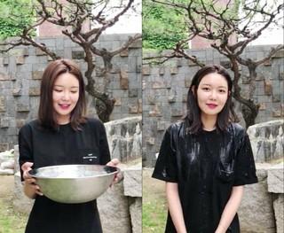 少女時代 スヨン、歌手ショーンからの指名でアイス・バケツ・チャレンジに参加。次はタレントのクォン・ヒョクス、俳優ドン・ヒョンベ、少女時代 ソヒョンを指名。