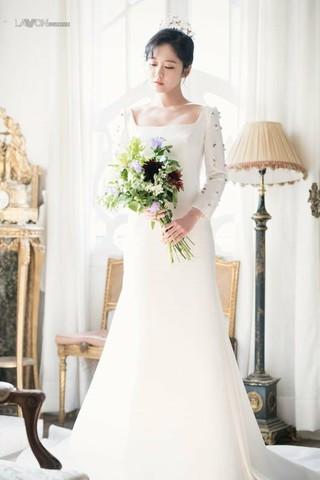 女優チャン・ナラ、画報公開。「Wedding 21」。