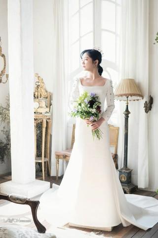 女優チャン・ナラ、画報公開。「Wedding 21」。追加分。