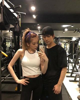MBLAQ 出身G.O 女優チェ・イェスル、ジムで公開デート。