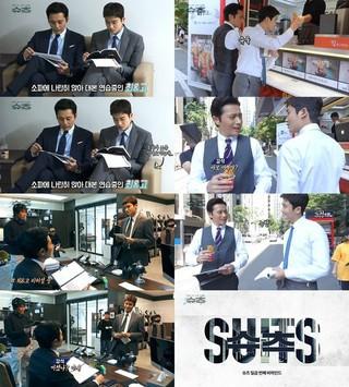 ドラマ「Suits(スーツ)」出演の俳優チャン・ドンゴン と ZE:A ヒョンシク、最終回を前により輝くケミ。