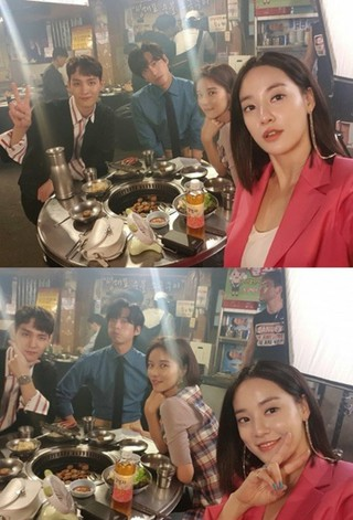 AFTERSCHOOL 出身イ・ジュヨン、ファン・ジョンウム &ナムグン・ミン &チェ・テジュン との食事風景を公開。