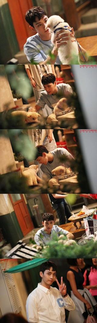 俳優チェ・テジュン、ドラマ「フンナムジョンウム」ビハインドカットを公開。