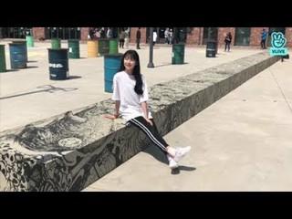 【動画】【公式】fromis_9、[Peek-A-Boo PDカム]THE 100ビハインド #5フロムたちはスチールカットの撮影中!