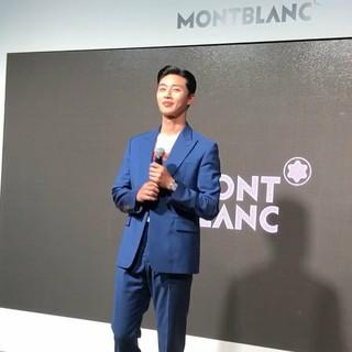 【g公式cos】俳優パク・ソジュン、montblanc スターレガシー発表パーティーに出席。