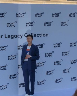 【g公式gra】俳優パク・ソジュン、「MONTBLANC」Star Regacyローンチイベントに出席。