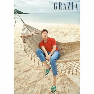 【g公式gra】 歌手ロイ・キム、画報公開。雑誌「GRAZIA」。