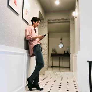 【G公式】俳優イ・ジュンギ、主演ドラマの最終話の次の日。●ああ~~二日酔い〜��。
