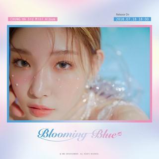 【t公式mnh】I.O.I 出身CHUNGHA、カムバックを予告。●3rd Mini Album「Blooming Blue」Photo Teaser 1