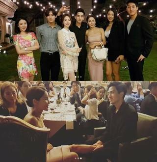ピラティス講師兼女優ヤン・ジョンウォン、SNSでリュ・フィリップ & ミナの披露宴の写真を公開。