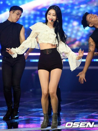 NINE MUSES キョンリ、MBC MUSIC「The Show」に出演。