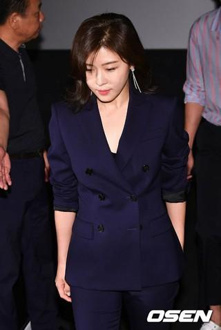 女優ハ・ジウォン、tvN火星探査プロジェクト「ガリレオ:目覚めた宇宙」の制作発表会に出席。12日午後、ソウル・龍山CGV。