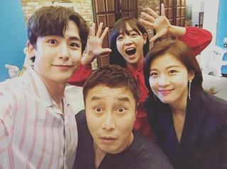 【G公式】2PM ニックン、「ガリレオ:目覚めた宇宙」制作発表会の裏側を公開。女優ハ・ジウォン らと一緒に。