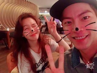 俳優ホン・ジョンヒョン、Girl's Day ミナとキュートなツーショット写真を公開。2人は韓国版「絶対彼氏。」に出演。