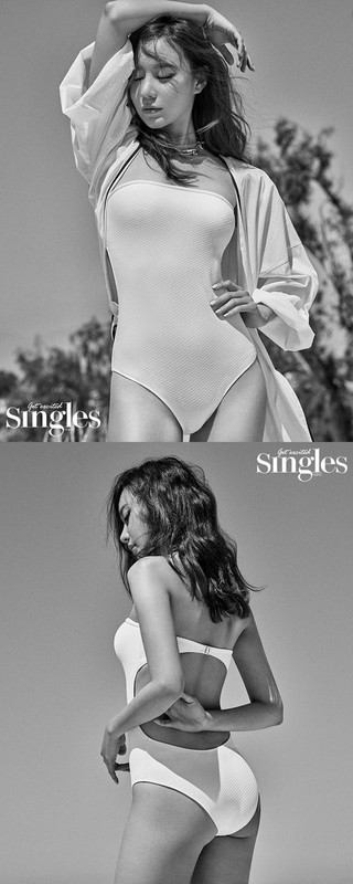 女優キム・アジュン、画報公開。Singles。