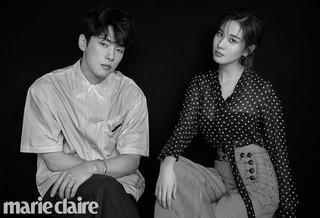 少女時代 ソヒョン 俳優キム・ジョンヒョン、画報公開。marie claire。7月末に放送開始のMBCドラマ「時間」で共演。