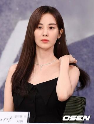 少女時代 ソヒョン、MBCドラマ「時間」制作発表会に出席。20日午後、ソウル上岩洞MBC。
