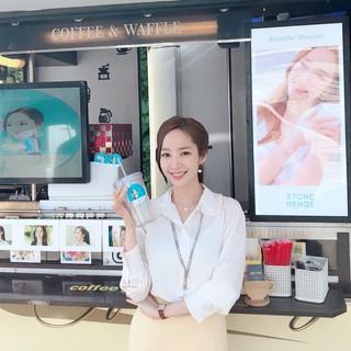 【g公式】女優パク・ミニョン、ドラマ撮影現場のケータリングサービスに感謝。