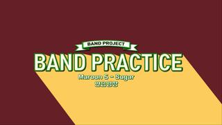 【動画】【w公式】 IZ(アイズ) 、[バンドプロジェクト] Maroon 5 「Sugar」BAND PRACTICE X2 公開。