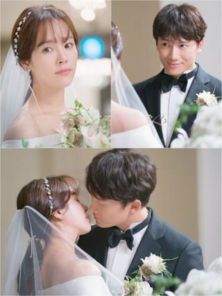 女優ハン・ジミン、結婚式のシーンが公開。●俳優チョソンとの共演ドラマ「知っているワイフ」●8月1日、放送局「tvN」でスタート。