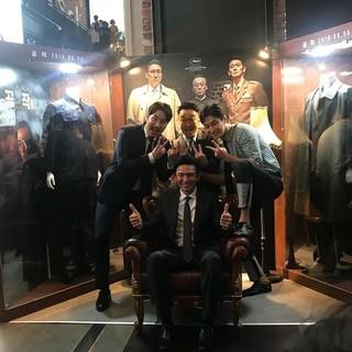 【G公式】俳優チュ・ジフン、 映画「工作」で共演のファン・ジョンミン、イ・ソンミン、チョ・ジヌンとの写真を公開。