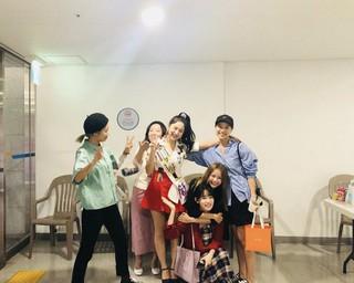 Red Velvet イェリ、幅広い交友関係。。女優ハ・ヨンス なども。