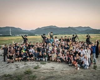 【G公式】俳優キム・ミンソク、私たちの映画『役者たち』クランクアップ!  &quot&#59;4ヶ月の間、監督、先輩たち、仲間たち、そしてすべてのスタッフの方々へ心から感謝いたします。本当にみな
