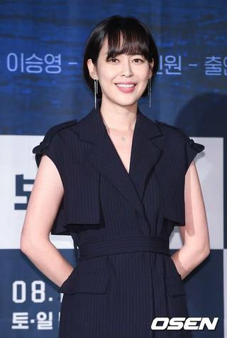 女優イ・ハナ、OCNオリジナルドラマ「ボイス2」制作発表会に出席。