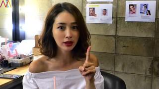 【動画】【w公式】女優イ・ミンジョン、ホットサマー・クールスマイル撮影現場。