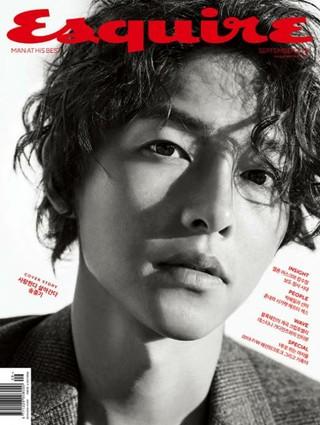 俳優ソン・ジュンギ、画報公開。Esquire。9月号表紙。