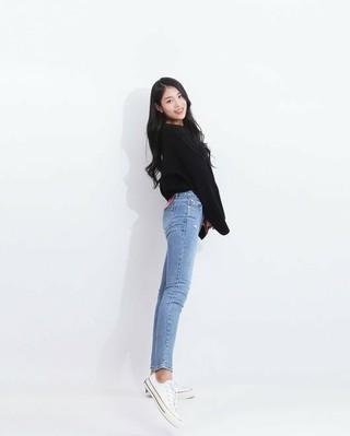 60キロを超える体重で話題となったぽっちゃりアイドル 少女注意報 ジソン、ジーンズブランド「KEYPLACE JEAN」のモデルに抜てき。