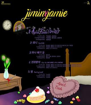 15&amp&#59; パク・ジミン、ニューアルバム「jiminxjamie」のタイトル曲は「April Fools(0401)」。自作曲で2年ぶりにカムバック。