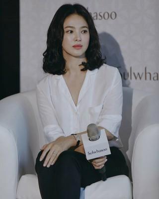 【g公式】女優ソン・ヘギョ、雪花秀ローンチイベントに出席。