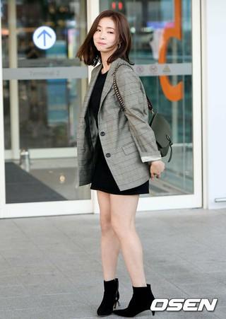 女優シン・セギョン、仕事のためフランスに向かう。1日午前、仁川国際空港。
