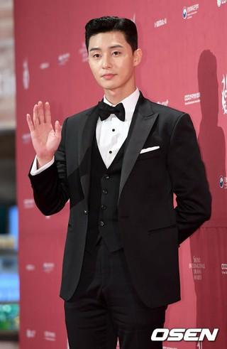俳優パク・ソジュン、「第13回ソウルドラマアワーズ」レッドカーペットイベントに出席。ソウル・汝矣島KBSホール。