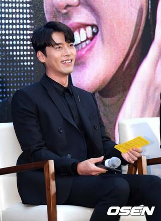 俳優ヒョンビン、映画「交渉」ショーケースに出席。ソウル・COEXライブプラザ。