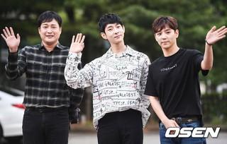10年ぶりに復活PARAN、RYAN、P.O、ACE。KBS2「ミュージックバンク」リハーサルへ出勤中。