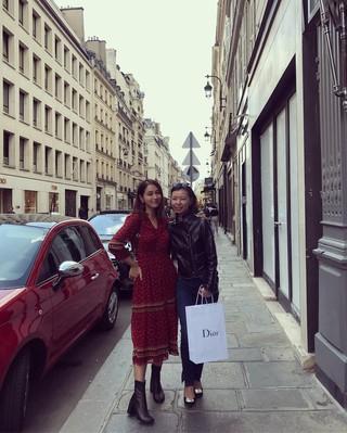 【g公式】「ビョン様夫人」女優イ・ミンジョン、 #paris。