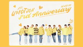 【動画】【w公式】 UP10TION 、「UP10TION 3rd Anniversary」VLIVE公開。