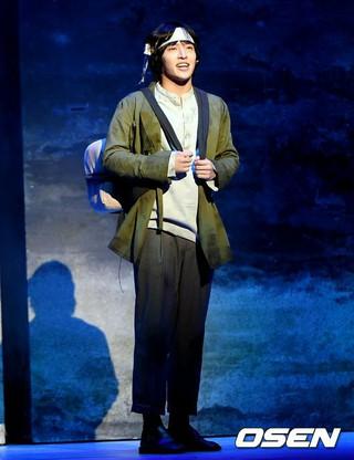 俳優カン・ハヌル、ミュージカル「新興武官学校」プレスコールに出席。19日午後ソウル・国立中央博物館劇場龍。