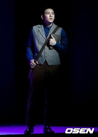 俳優チ・チャンウク、ミュージカル「新興武官学校」プレスコールに出席。19日午後ソウル・国立中央博物館劇場龍。