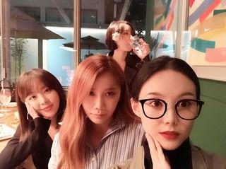 Brown Eyed Girls、久しぶりに4人揃った写真を公開。ジェア&ガインの誕生日を祝う。